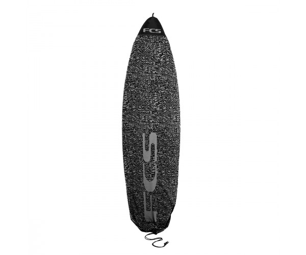 FCS Stretch All Purpose Cover 5'6'' Carbon