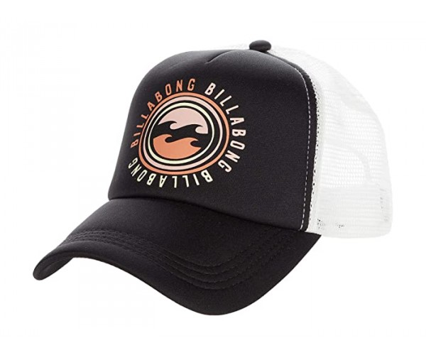 Billabong Across Waves Trucker Hat Black