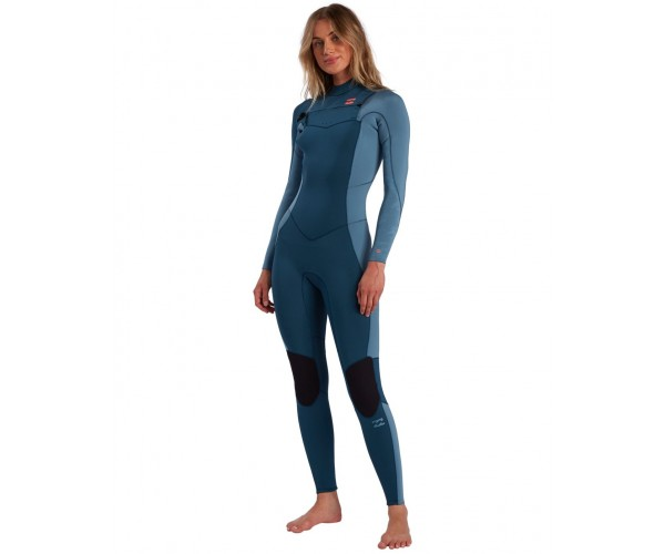 Billabong 3/2 Synergy Back Zip Blue Seas