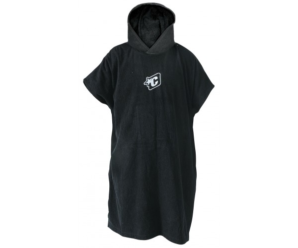 Creature Of Leisure Surf Poncho Black