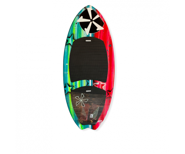 Phase 5 Fish 47'' Black / Red / Green