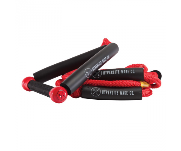 Hyperlite Wakesurf Rope Red