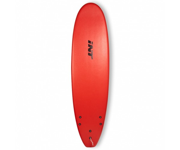 INT Softboards Classic 7' Slick Bottom Red