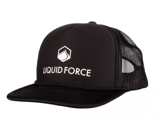 Liquid Force Corporate Logo Black
