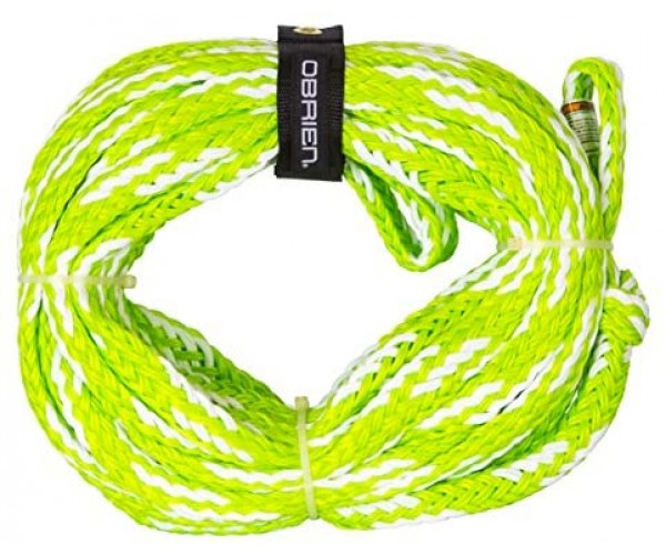 O'Brien 4-Person Tube Rope Green