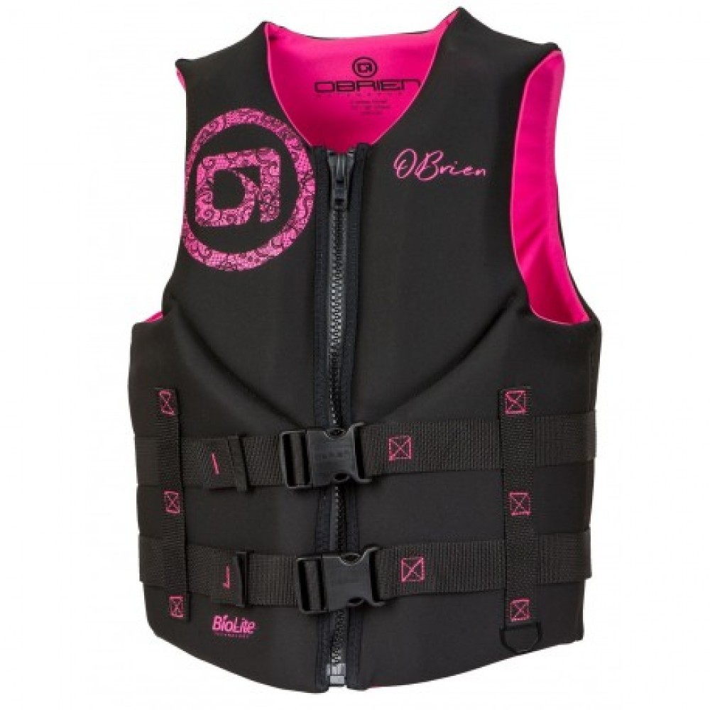 O'Brien Ladies Traditional Neo Black / Pink