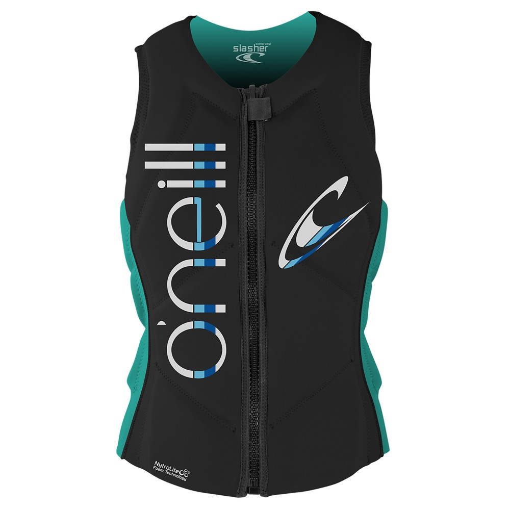O'Neill Ladies Slasher Midnight/Aqua
