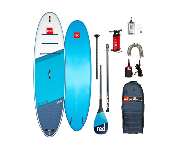 Red Paddle Ride 10'8'' 2021 Complete Package