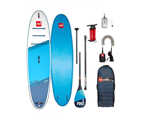 Red Paddle Ride 10'6'' 2021 Complete Package