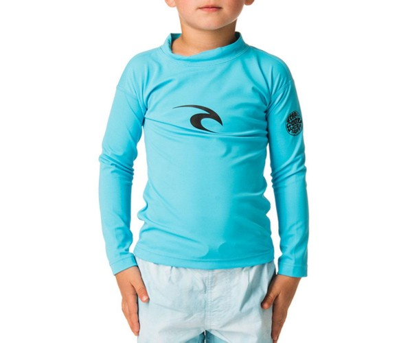 Rip curl Grom Corpo Rash guard Blue