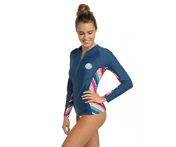 Rip curl Hanna Long Sleeve Rash Guard Navy