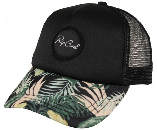 Rip curl Coastal Palms Trucker Hat Black