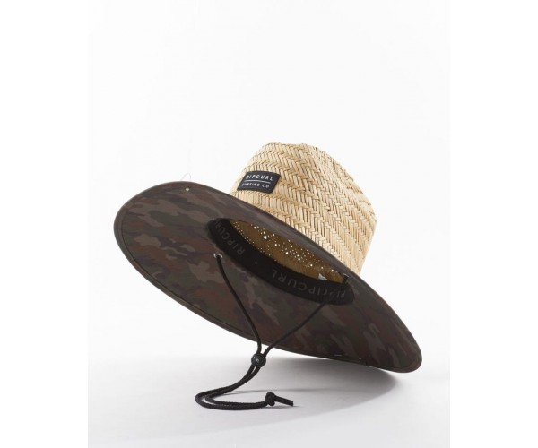 Rip curl Mix Up Straw Hat Dark Olive
