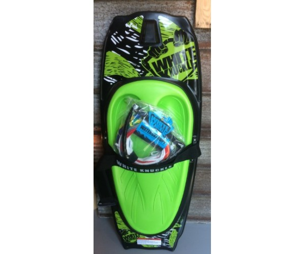 White Knuckle Kneeboard + Water Ski Rope