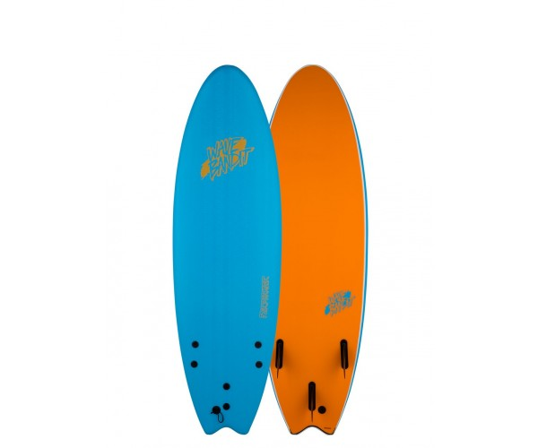 Wave Bandit Performer 6'6'' Blue/Orange